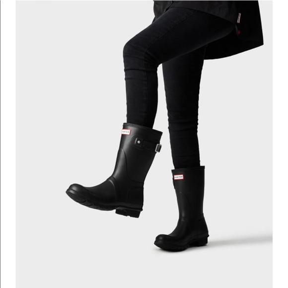 2e18ed04047 Hunter Women's Original Short Rain Boots
